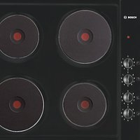 Bosch NCT616C01 Sealed Plate Electric Hob, Black