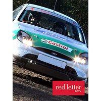 Red Letter Days Rally Driving Thrill
