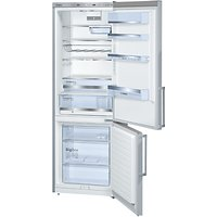 Bosch KGE49BI30G Fridge Freezer, A++ Energy Rating, 70cm Wide, Stainless Steel Look