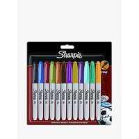 Sharpie Permanent Markers, Pack of 12