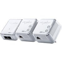 Devolo dLAN 500 Wi-Fi Powerline Network Kit, Triple Pack