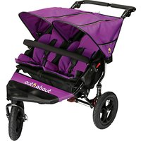 Out N About Nipper 360 Double V4 Pushchair, Purple