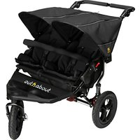 Out N About Nipper 360 Double V4 Pushchair, Black