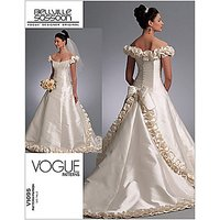 Vogue Beville Sassoon Womens Gown Sewing Pattern, 1095