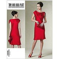 Vogue Tom and Linda Platt Dress Sewing Pattern, 1208