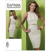 Vogue Kay Unger Womens Dress Sewing Pattern, 1183
