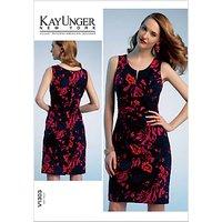 Vogue Kay Unger Women's Dress Sewing Pattern, 1303