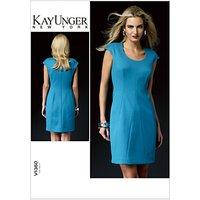 Vogue Kay Unger Women's Dress Sewing Pattern, 1360