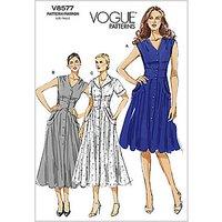 Vogue Womens Dresses Sewing Pattern, 8577