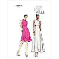 Vogue Womens Dresses Sewing Pattern, 8808