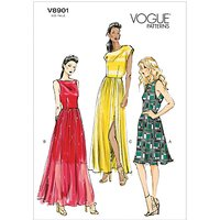 Vogue Womens Dresses Sewing Pattern, 8901