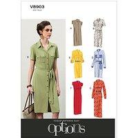 Vogue Women's Dresses Sewing Pattern, 8903