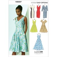 Vogue Womens Dresses Sewing Pattern, 8997