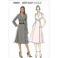 Vogue Womens Dresses Sewing Pattern, 8992
