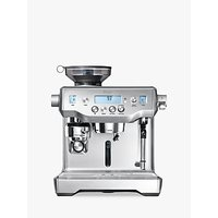 "Sage The Oracleâ"" Bean-to-Cup Coffee Machine, Silver"