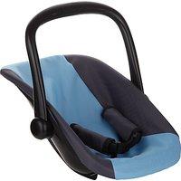 John Lewis Baby Doll Car Seat, Grey/Blue