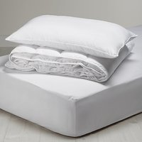 little home at John Lewis Anti Allergy 7 Tog Single Duvet, Pillow and Mattress Protector Set