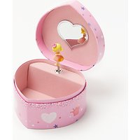 John Lewis Princess, Horse & Hearts Jewellery Box