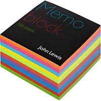 John Lewis Memo Block, Multi