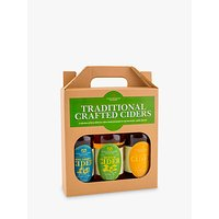 Staffordshire Brewery Traditional Crafted Ciders Set, 3 x 500ml