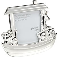John Lewis Silver Plated Noahs Ark Photo Frame