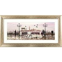 Richard Macneil - Venice: End Of Day Framed Print, 112 x 57cm