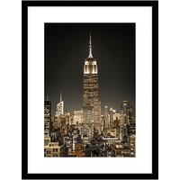 Assaf Frank - New York City Lights Framed, 84 x 64cm