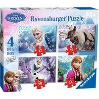 Ravensburger Disney Frozen Jigsaw Puzzle, Box of 4
