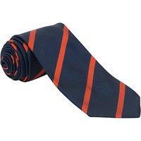 Sancton Wood School Phoenix House Tie, 52, Navy/Red