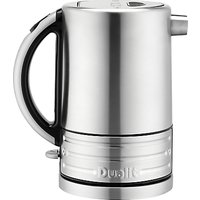 Dualit Architect Kettle, Brushed Steel/Black