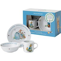 Beatrix Potter Peter Rabbit Wedgwood 3 Piece Nursery Set