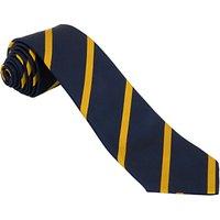 School Tie, 45, Navy/Yellow