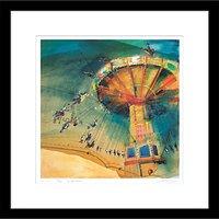 Rob Wilson - Carousel Framed Limited Edition Giclee Print, 59 x 59cm