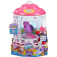 Little Live Pets Tweet Talking Bird In A Cage, Assorted