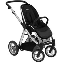 Babystyle Oyster Max Stroller Chassis and Seat, Mirror Finish