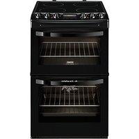 Zanussi ZCV48300BA Electric Cooker, Black