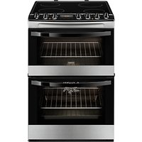 Zanussi ZCV68310XA Electric Cooker, Stainless Steel