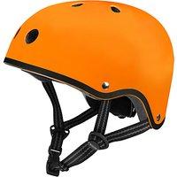 Micro Scooter Safety Helmet, Matt Orange, Medium