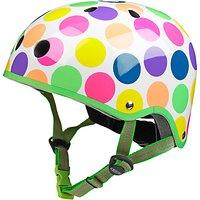 Micro Scooter Safety Helmet, Neon Dot, Medium