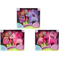 Evi Little Fairy & Pony Dolls, Assorted