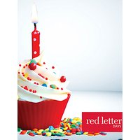 Red Letter Days Happy Birthday £50 Gift Card