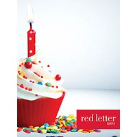 Red Letter Days Happy Birthday £75 Gift Card