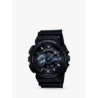 Casio GA-110-1BER Men's G-Shock Resin Strap Watch, Black