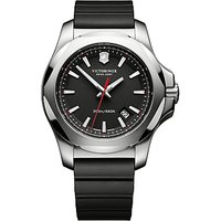Victorinox Mens I.N.O.X Rubber Strap Watch