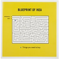 Woodmansterne Ikea Greeting Card