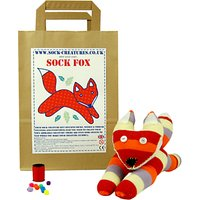 Sock Creatures Sock Fox Craft Kit