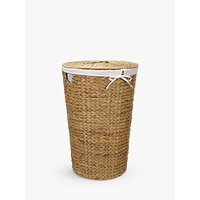 John Lewis Water Hyacinth Laundry Basket