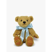 Merrythought Personalised Shrewsbury Teddy Bear with Gold Thread Soft Toy
