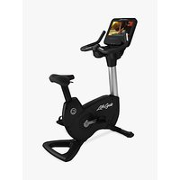 Life Fitness Platinum Club Series Upright Lifecycle Exercise Bike with Discover SE Tablet Console