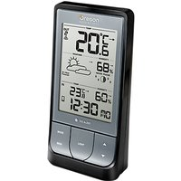 Oregon Scientific Bluetooth Weather Station BAR218, Black/Silver